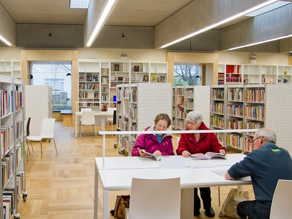 Ballyroan Library Lighting Design