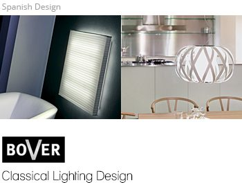 Bover, house lighting design