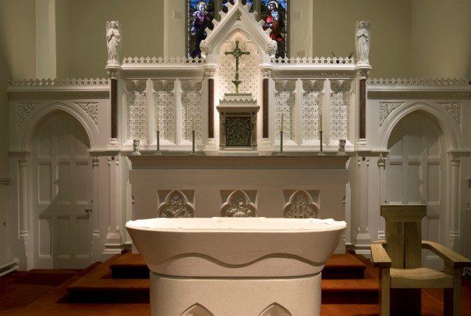 Clonmellon Church – Church lighting design