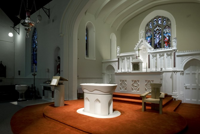 clonmellon church church lighting design wink