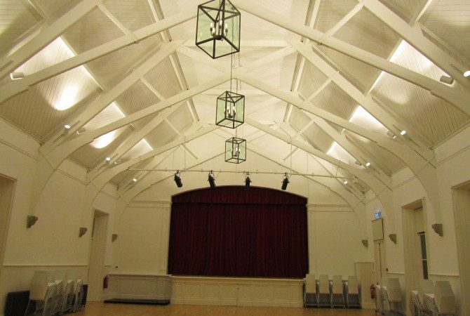 Dalkey Town Hall – Conservation lighting