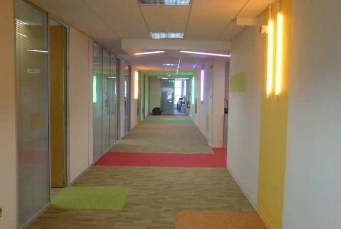 Dundrum Marketing suite- Lighting design