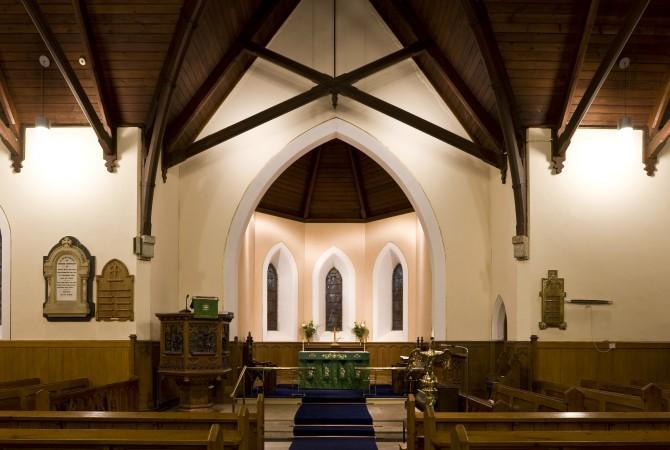 Holy Trinity Killiney , Church Lighting Systems