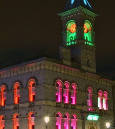 LED Lighting , Dun-Laoghaire Town Hall
