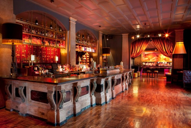 Bar lighting – The Odeon Dublin
