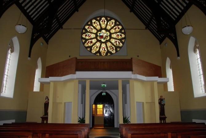 Lighting designer – CARRIGART CHURCH DONEGAL