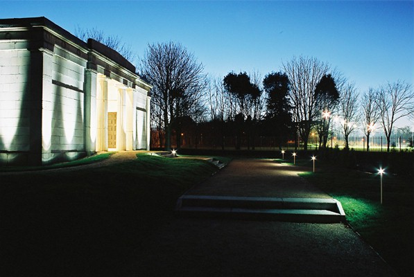Lanscape Fittings – UCD – facade lighting design