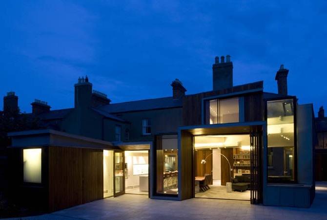 House lighting design ,Dublin suburban home.