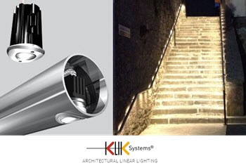 KLIK Systems – Handrail Lighting – Commended RIAI Product of the Year 2015