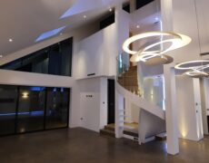 Latest residential lighting project