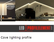Ledprofilelements – cove lighting solutions- Winner of the RIAI Building Product of the Year 2015