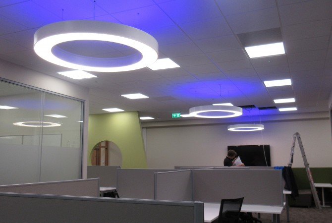 Daft.ie Office Lighting Design
