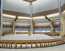 Wink's expertise in Lighting Church buildings
